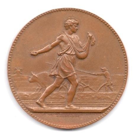 (FMED.Méd.&jetonsXXème.1971.CuSn1.000000001) Médaille bronze - Semeur Avers