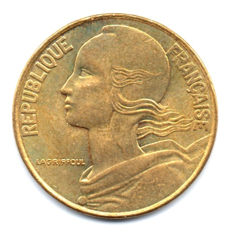 (FMO.020.2000.9.43.000000001) 20 centimes Marianne 2000 Avers
