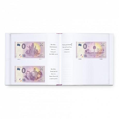 (MAT01.Alb&feu.Alb.358046) Album Leuchtturm - Billets touristiques (ouvert)