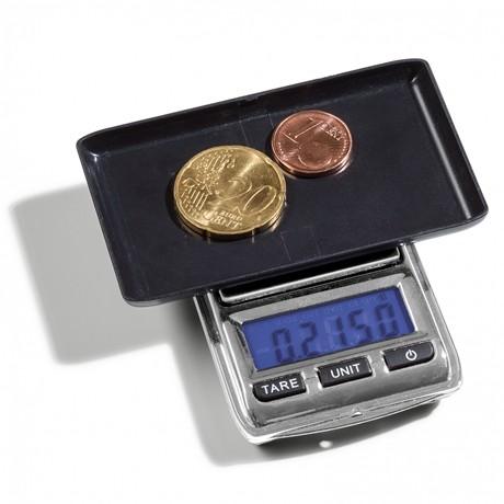 (MAT01.Matman.Man1.1.344222) Balance numismatique numérique Leuchtturm (en cours d'utilisation)