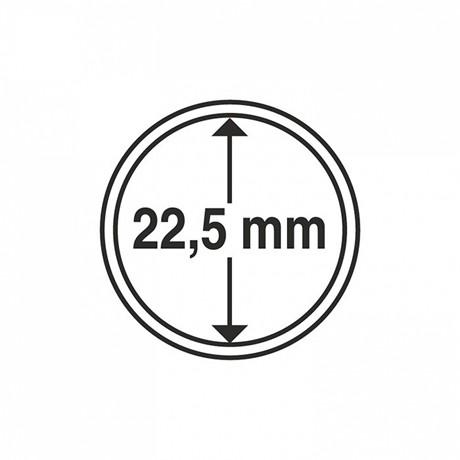 (MAT01.Rangindiv.Caps.320006) Capsules Leuchtturm pour monnaies 22,50 mm