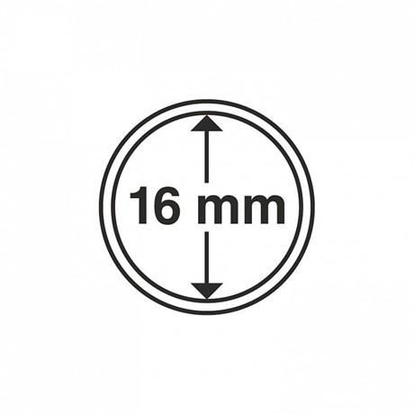 (MAT01.Rangindiv.Caps.334752) Capsules Leuchtturm pour monnaies 16,00 mm