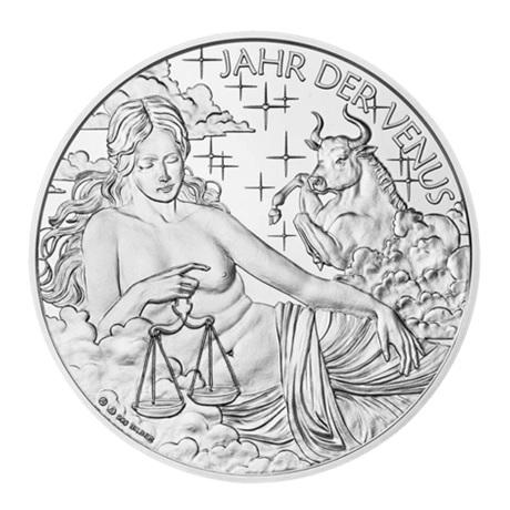 (MED01.Méd.MünzeÖ.2018.Ag2) Médaille argent - Calendrier 2018 Avers