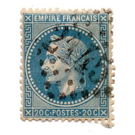 (PHILMO.020.1868.1.000000001) 20 centimes Napoléon III, Tête laurée, 2ème type 1868