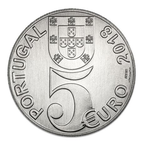 5 euro Portugal 2018 - Armistice Avers
