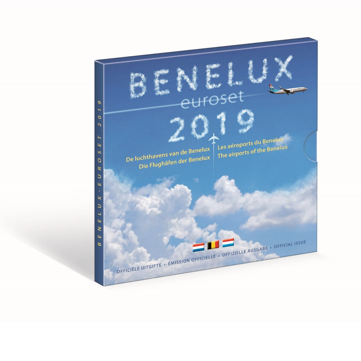 Brilliant Uncirculated coin set Benelux 2019 (zoom)