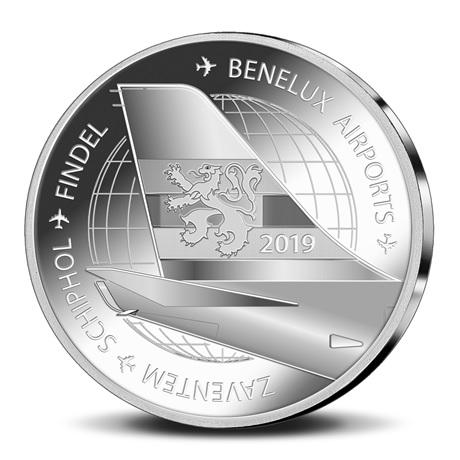 Coffret BU Benelux 2019 (revers médaille)