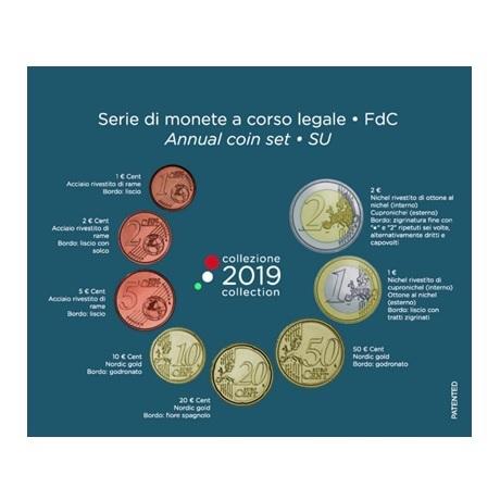 Coffret BU Italie 2019 Verso