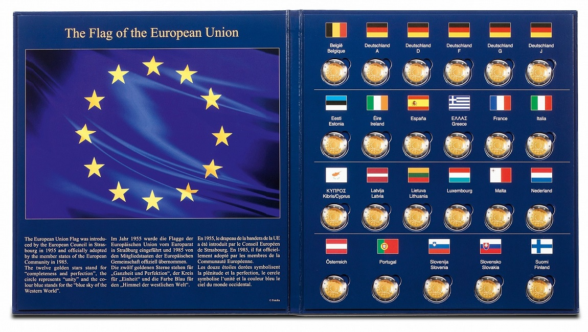 (MAT01.Albfeu.Alb_.347757) Album Lighthouse PRESSO European flag (open) (zoom)