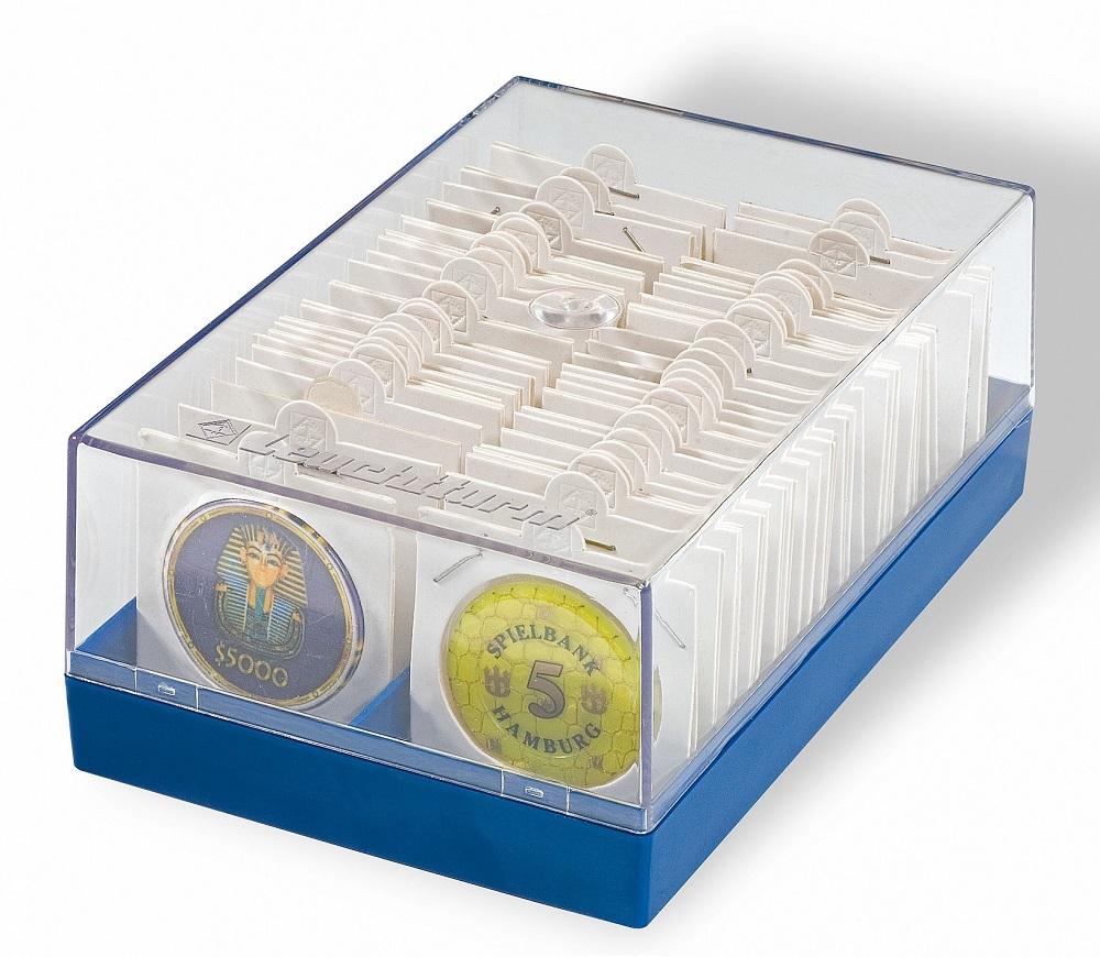 (MAT01.Cofmédécr.Cof_.315511) Box Lighthouse for 100 cardboard coinholders (zoom)