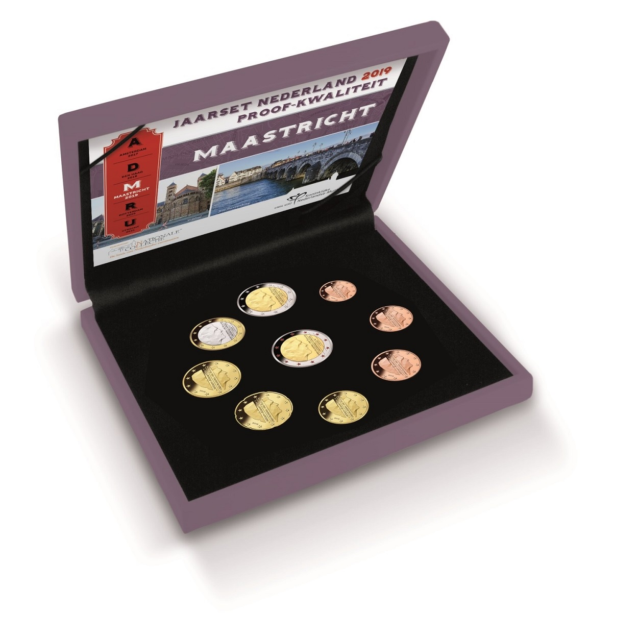 Proof coin set Netherlands 2019 (zoom)