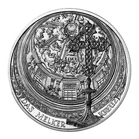 10 euro Autriche 2007 argent BU - Abbaye de Melk Revers