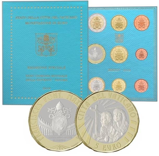 BU coin set Vaticano 2019 - World Youth Day (zoom)