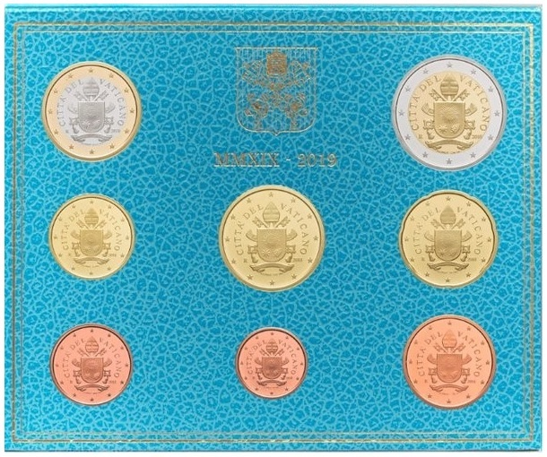 BU Coin set Vaticano 2019 (zoom)