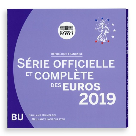 Coffret BU France 2019 Recto