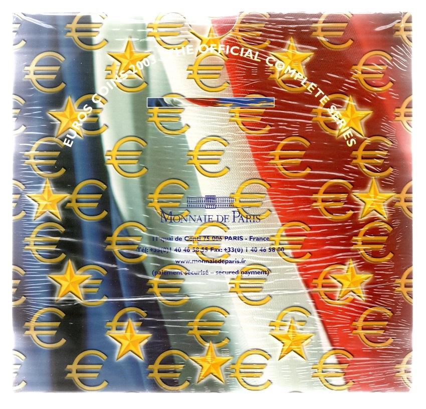 (EUR07.CofBUFDC.2003.Cof-BU.000000001) BU coin set France 2003 Back (zoom)
