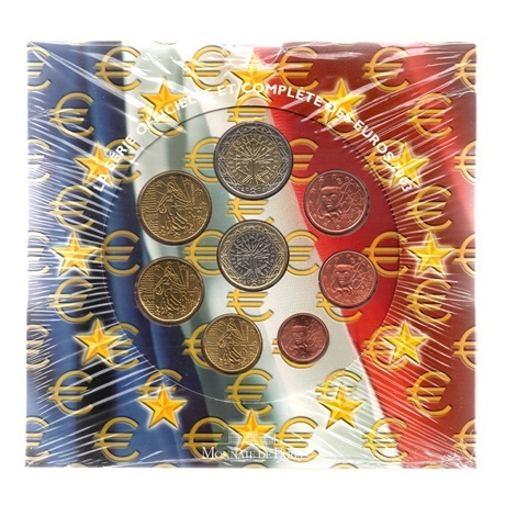 (EUR07.CofBU&FDC.2003.Cof-BU.000000001) Coffret BU France 2003 Recto