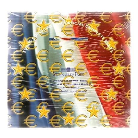 (EUR07.CofBU&FDC.2003.Cof-BU.000000001) Coffret BU France 2003 Verso