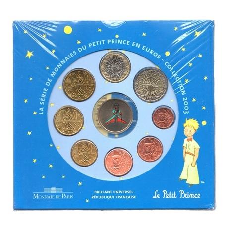 (EUR07.CofBU&FDC.2003.Cof-BU.2.000000001) Coffret BU France 2003 - Le Petit Prince Recto