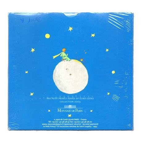 (EUR07.CofBU&FDC.2003.Cof-BU.2.000000001) Coffret BU France 2003 - Le Petit Prince Verso