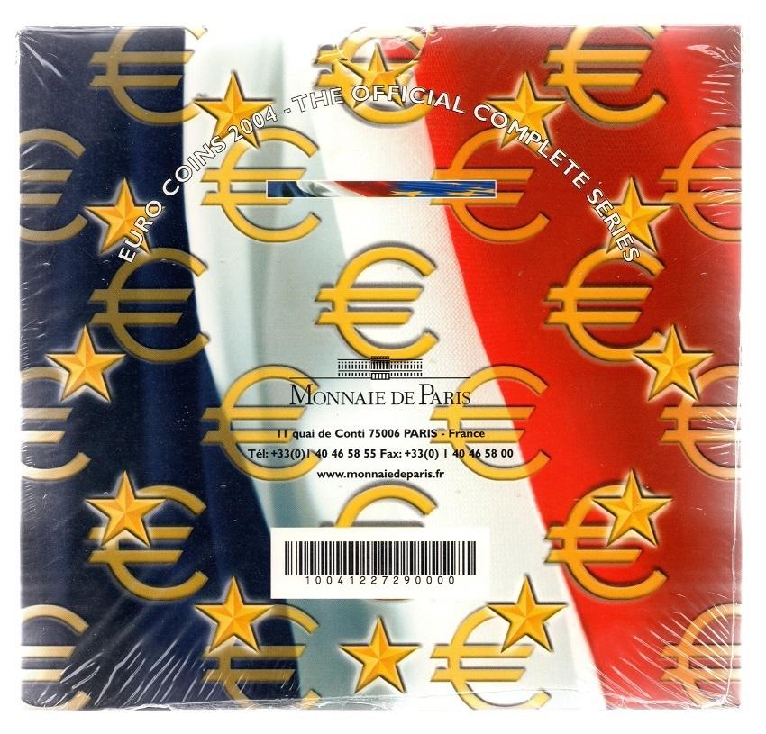 (EUR07.CofBUFDC.2004.Cof-BU.000000001) BU coin set France 2004 Back (zoom)