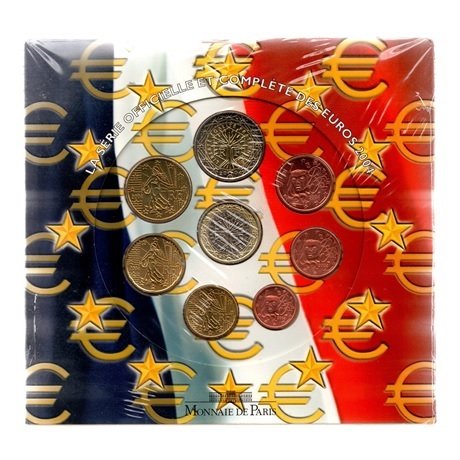 (EUR07.CofBU&FDC.2004.Cof-BU.000000001) Coffret BU France 2004 Recto