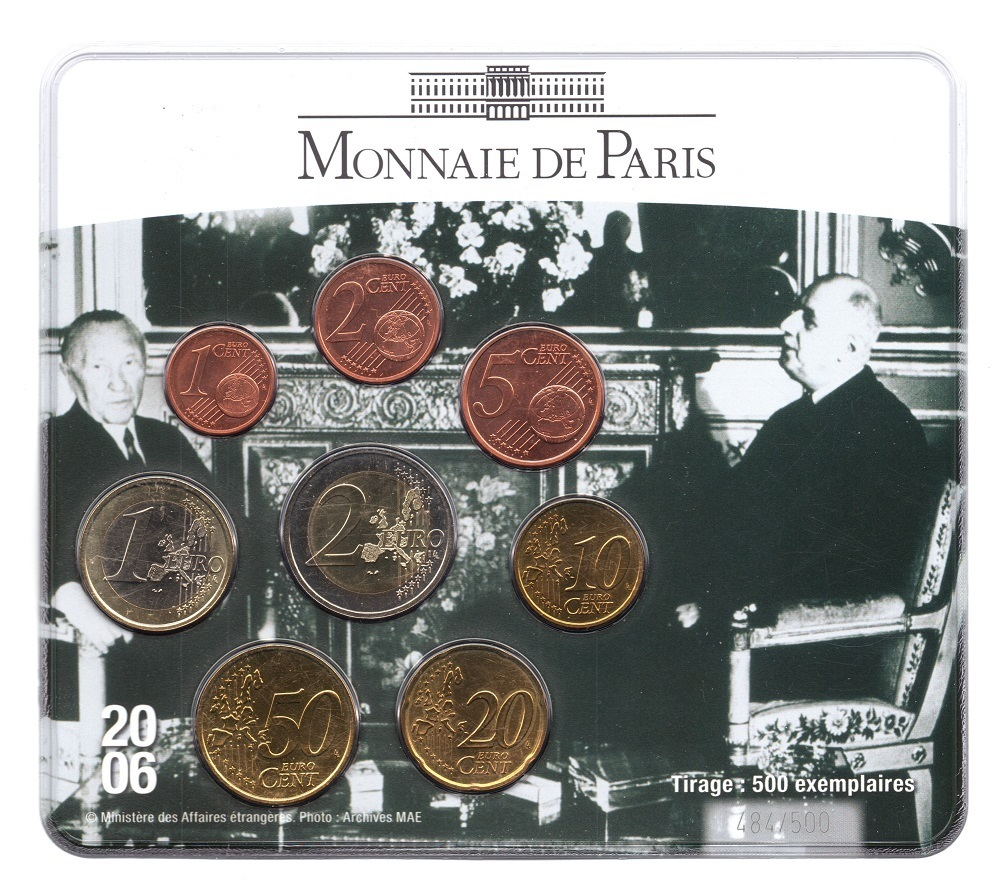 (EUR07.CofBUFDC.2006.M-S18.484) BU mini-set France 2006 - Franco German friendship Front (zoom)