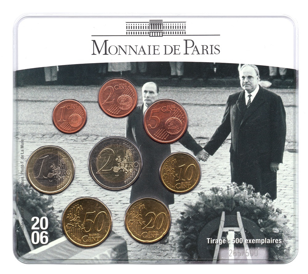 (EUR07.CofBUFDC.2006.M-S19.265) BU mini-set France 2006 - Franco-German friendship Front (zoom)