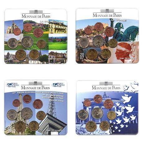 (EUR07.CofBU&FDC.M-S) Mini-sets BU France (sélection 1)