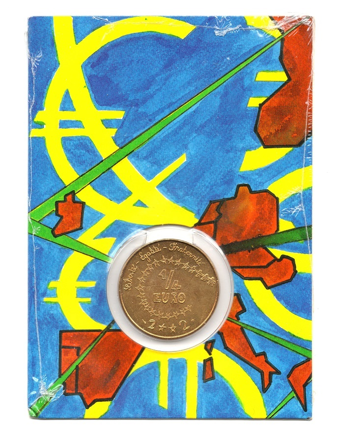 (EUR07.ComBUBE.2002.25.BU_.COM1_.000000001) 0.25 euro France 2002 BU - Euro created by children Front (zoom)