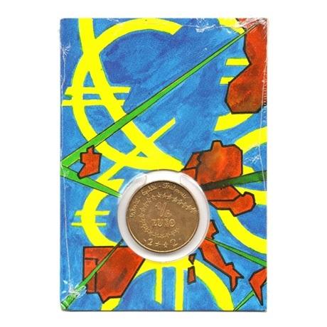 (EUR07.ComBU&BE.2002.25.BU.COM1.000000001) 0,25 euro France 2002 BU - Euro des enfants Recto