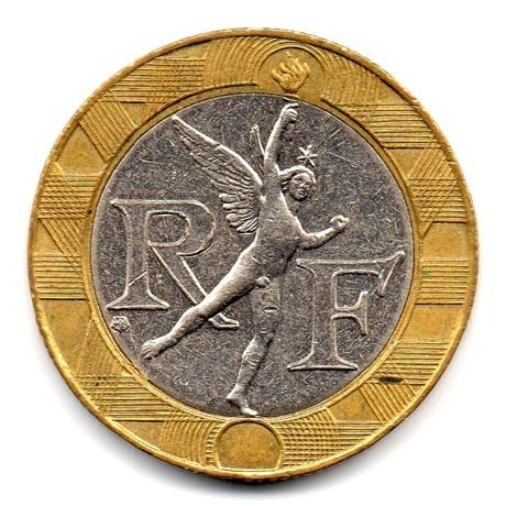 (FMO.10.2000.16.16.ttb.000000001) 10 Francs Génie de la Bastille 2000 Avers