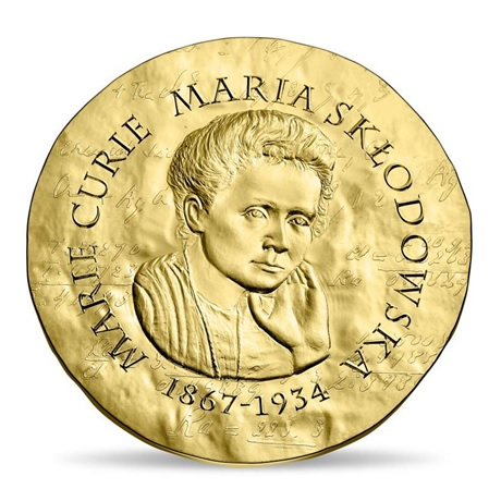 50 euro France 2019 or BE - Marie Curie Avers