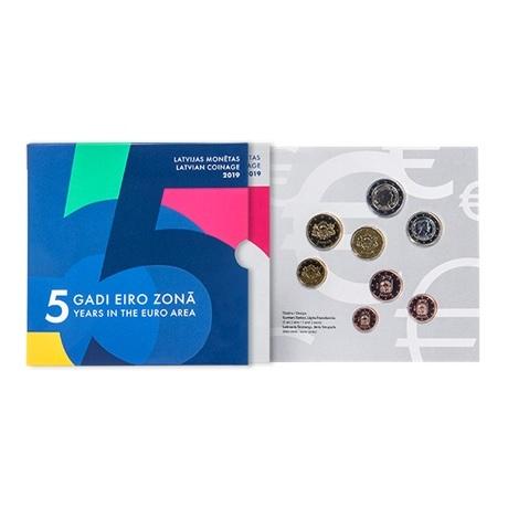 Coffret BU Lettonie 2019