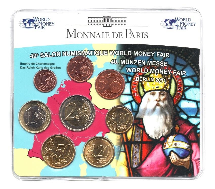 (EUR07.CofBUFDC.2011.M-S1.078) Mini-set BU France 2011 - Berlin World Money Fair Front (zoom)