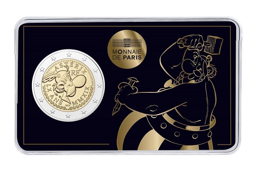 (EUR07.ComBUBE.2019.200.BU_.10041337830000) 2 euro France 2019 BU - Asterix Front (zoom)