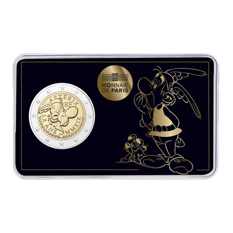 (EUR07.ComBU&BE.2019.200.BU.10041337840000) 2 euro commémorative France 2019 BU - Astérix Recto