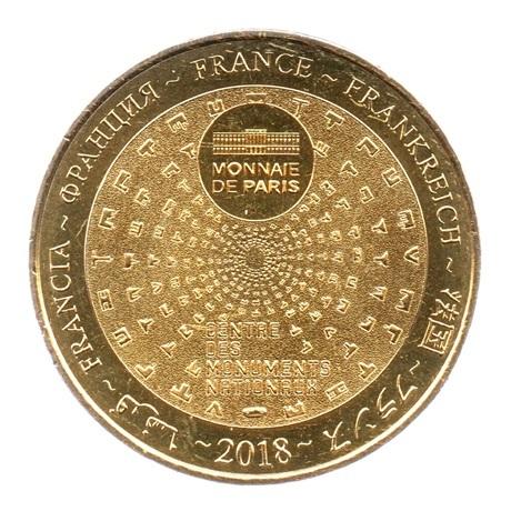 (FMED.Méd.tourist.2018.CuAlNi-3.1.spl.000000001) Jeton touristique - Château de Maisons-Laffitte Revers