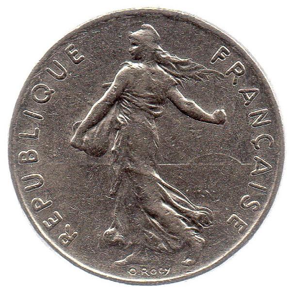 (FMO.050.1978.26.15.ttb.000000001) Half Franc Sower 1978 Obverse (zoom)