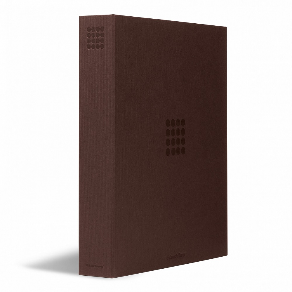 (MAT01.Albfeu.Alb_.359522) Brown album Lighthouse GRANDE without protective case (zoom)