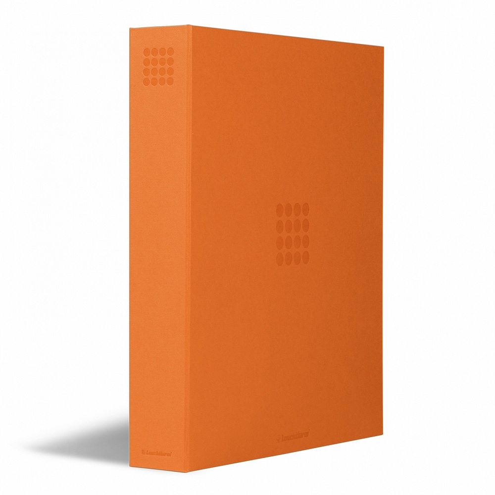 (MAT01.Albfeu.Alb_.359524) Orange album Lighthouse GRANDE without protective case (zoom)