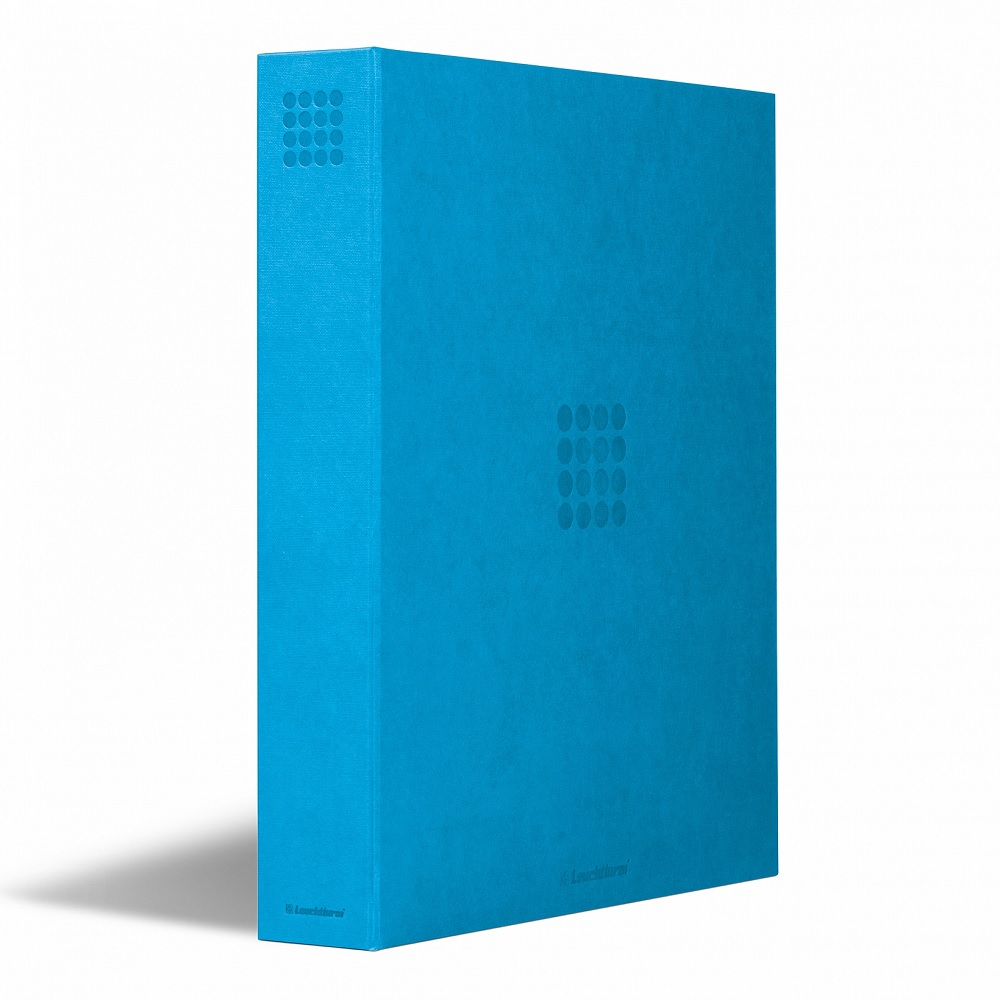 (MAT01.Albfeu.Alb_.359525) Cyan album Lighthouse GRANDE without protective case (zoom)
