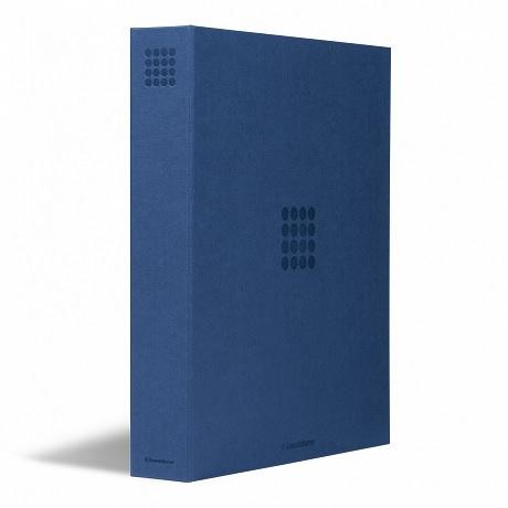 (MAT01.Alb&feu.Alb.359526) Classeur Leuchtturm GRANDE bleu sans étui