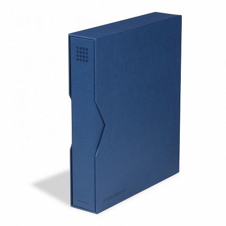 (MAT01.Alb&feu.Alb.359532) Classeur Leuchtturm GRANDE bleu avec étui
