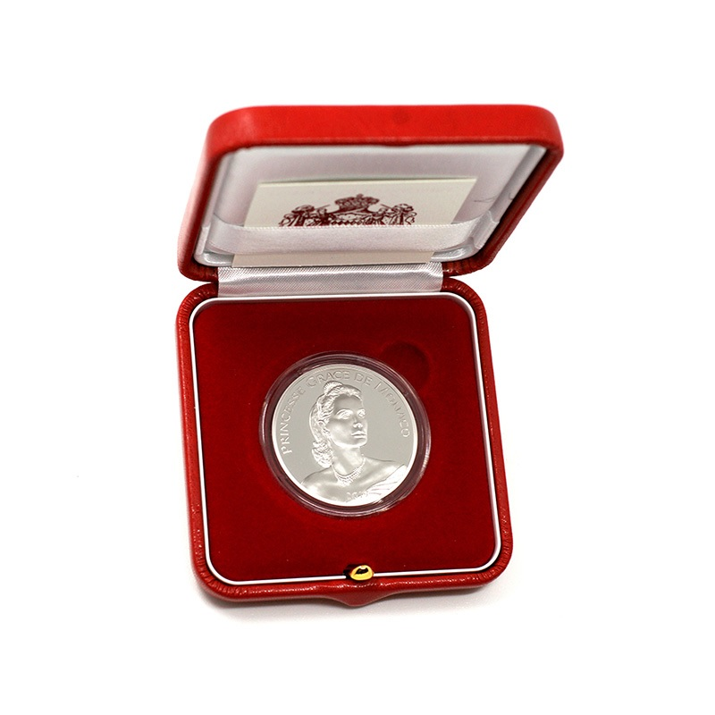 10 euro Monaco 2019 Proof silver - Princess Grace Kelly (box) (zoom)