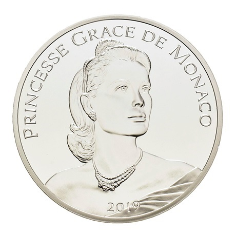 10 euro Monaco 2019 argent BE - Grace Kelly Avers