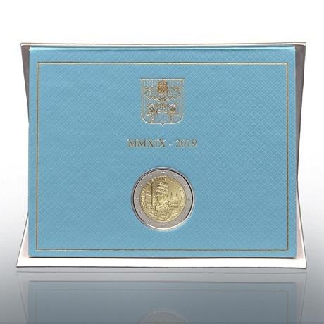 2 euro commémorative Vatican 2019 BU - Fondation de l'Etat du Vatican