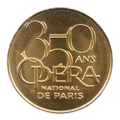 (FMED.Méd.tourist.2019.CuAlNi2.7.spl.000000001) Jeton touristique - Opéra Garnier Avers