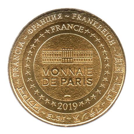 (FMED.Méd.tourist.2019.CuAlNi2.7.spl.000000001) Jeton touristique - Opéra Garnier Revers