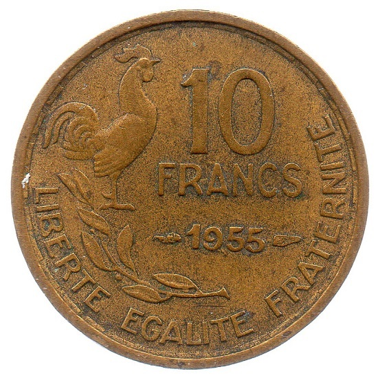 (FMO.10.1955.4.11.tb_.000000001) 10 Francs Guiraud 1955 Reverse (zoom)